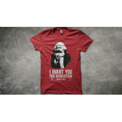"T-Shirt ""Marx - Revolution"""