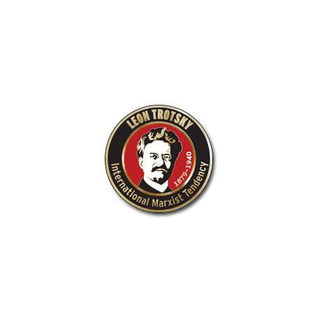 """Pin """"Leon Trotsky"""""""
