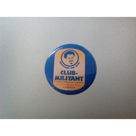 "Button ""Club Militant"""