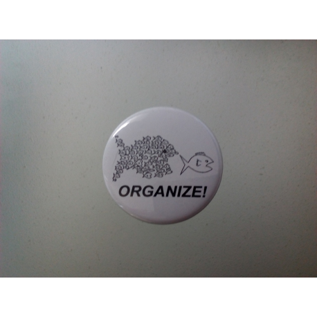 """Button """"Organize"""""""